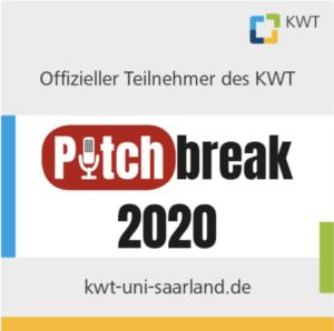 Das Logo des Pitch Break 2020 ist zu sehen.