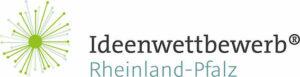Das Logo des Wettbewerbs ist zu sehen. Eine grüne Pusteblume.